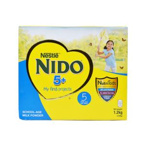 Nido 5+ School Age Milk Powder 1.2Kg